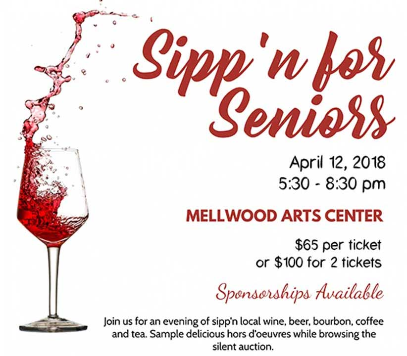Sipp'n For Seniors 2018