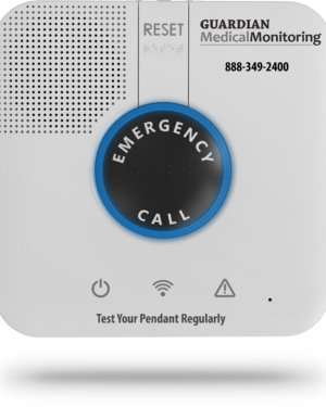 guardian medical monitor emergency call